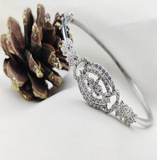 Silver Shiny Bracelet.